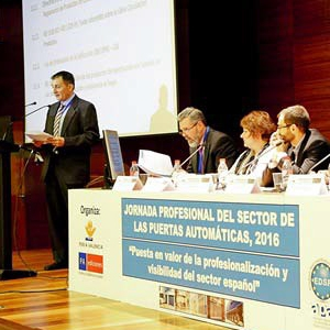 Andreu Barberá, S.L., participates in the Technical Conference about Doors in Feria Valencia