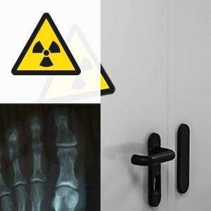 Porte Coupe-Feu et avec protection Radiologique