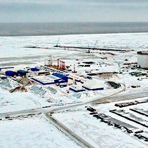 Andreu présent sur le projet Yamal en Russie