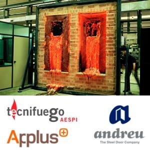Andreu participe à la Journée technique « Marquage CE des Portes Coupe-feu », à Bellaterra, Barcelone.