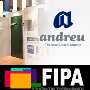 ANDREU BARBERA will attend the first International Fair for Automatic Doors FIPA 2017