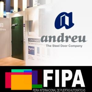 ANDREU BARBERA participa en la Primera Feria Internacional de Puertas Automáticas FIPA 2017