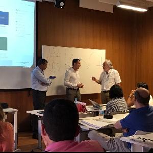 Andreu Barbera sponsor du cours de formation CTE-DB-SI dans COAM