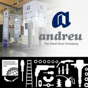 Andreu, dans la prochaine édition du salon EISENWARENMESSE 2018 à Cologne
