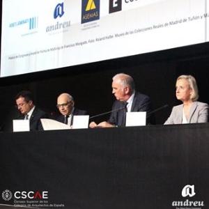 Andreu jako sponsor Nagród Architektury i Urbanistyki Hiszpanskiej