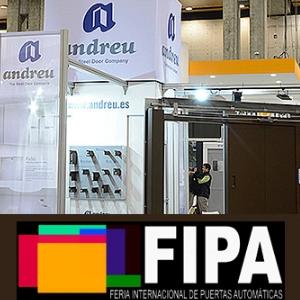 ANDREU weźmie udział w Międzynarodowych Targach Drzwi Zautomatyzowanych FIPA 2019