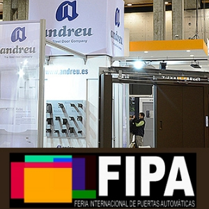 ANDREU will attend the International Fair of Automatic Doors  FIPA 2019