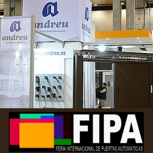 ANDREU participará en la Feria Internacional de Puertas Automáticas FIPA 2019