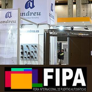 «ANDREU» примет участие в международной выставке автоматических дверей «FIPA 2019»
