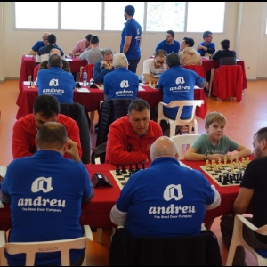 The Chess Club Andreu Paterna proclaims champion of the Valencian Community