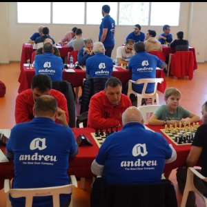 Le Club d'Échecs Andreu Paterna se déclare champion de la Communauté Valencienne