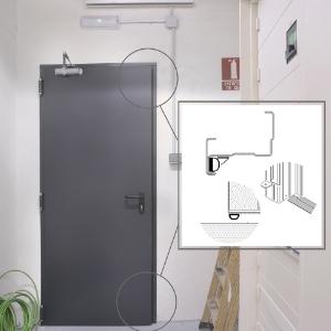Kit anti-fumée d'Andreu pour atteindre les performances de contrôle de la fumée