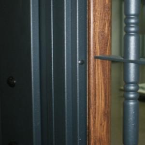 Porte Résidentielle Bicolore: Adaptation totale aux différents environnements de le logement