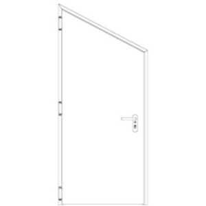 Inclined doors: Specially tailored to the requirements of the customers