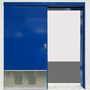 Office Slide Doorset
