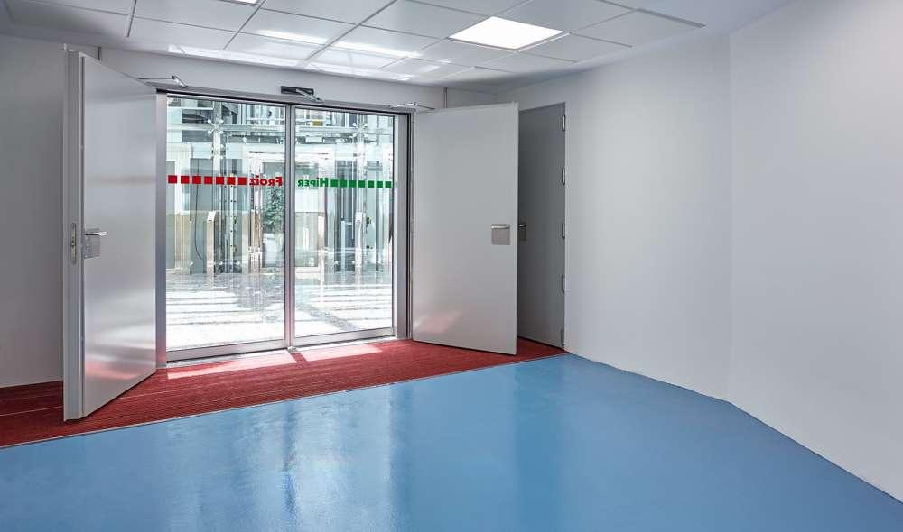 Fire Doors, Multipurpose, residential Metallic doors Andreu: Hinged fire door Turia Premium